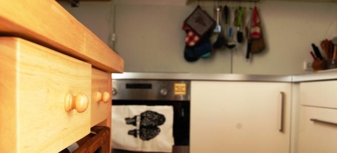 Ich mag den Blick in fremde Küchen. Hier ist unsere