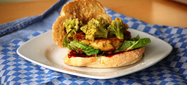 Romanesco-Burger